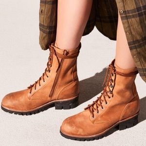 Jeffrey Campbell x Free People Lucca Lace-Up Boot